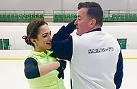 Медведева в Канаде: топовый тренер, золотые коньки и новый имидж