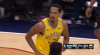 Kevin Durant scores off the great dish by Shaun Livingston