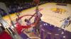 Kyle Kuzma attacks the rim!