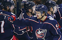 НХЛ, видео, Коламбус, Детройт, Артемий Панарин, рекорды, Кэм Эткинсон