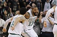 Концовка матча «Бостона» и «Оклахомы» напомнит о приближении плей-офф