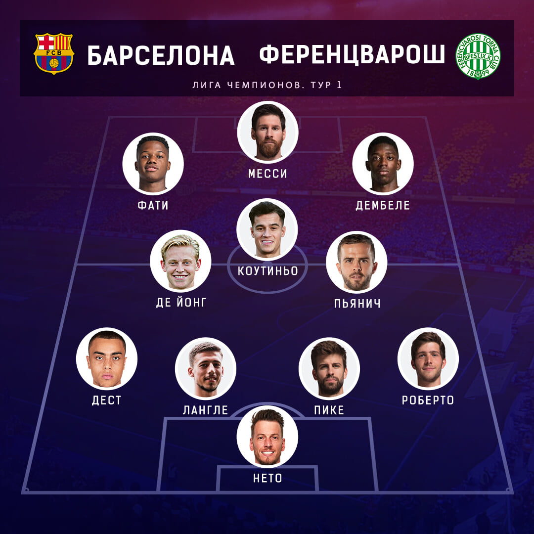 Grizmann Ili Fati Pyanich Ili Buskets Vybiraem Sostav Barselony Na Startovyj Match V Lch Fc Barcelona Blogi Sports Ru