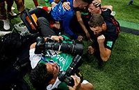 Хорватия задавила фотографа, празднуя победный гол. Он все нам рассказал
