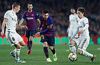 «Реал» и «Барселона» бьются за финал Кубка Испании. Смотрим вместе