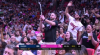 Justise Winslow  scores off the great dish by Dwyane Wade
