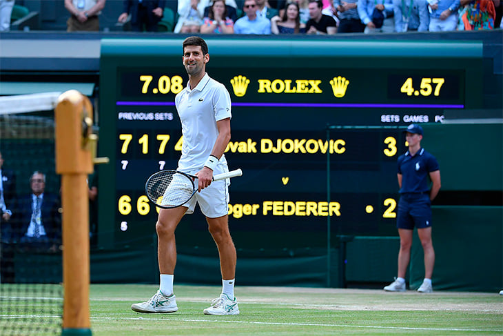 Джокович хочет переписать рекорды тенниса. Многие возможно уже в ближайшие год-два
