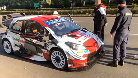 чемпионат мира по ралли, Тойота WRC, Себастьян Ожье, происшествия, ахахаха, видео