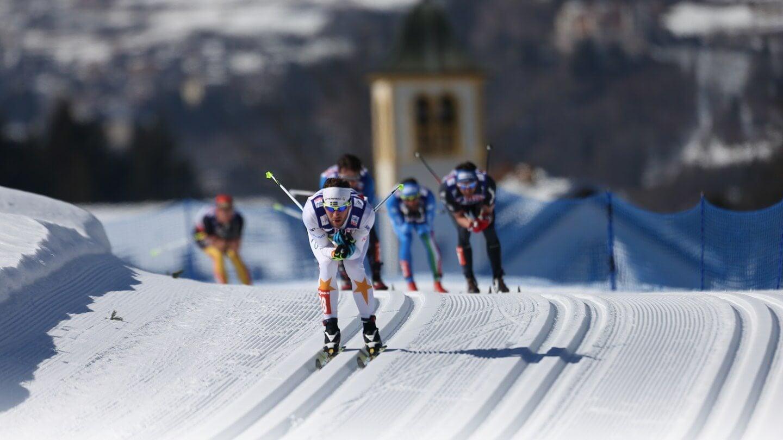 Картинки лыжные гонки обои