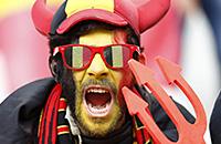 сборная Бельгии, болельщики, сборная Ирландии, Евро-2016