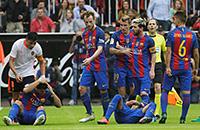 Барселона, Валенсия, Лионель Месси, примера Испания, происшествия, болельщики