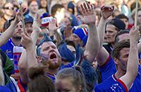 фото, Евро-2016, сборная Исландии, болельщики, сборная Франции