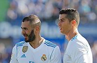 Карим Бензема, Криштиану Роналду, Реал Мадрид, Ла Лига, Беневенто