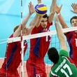 сборная России по волейболу, сборная Болгарии, Матей Казийски, Пекин-2008, Максим Михайлов