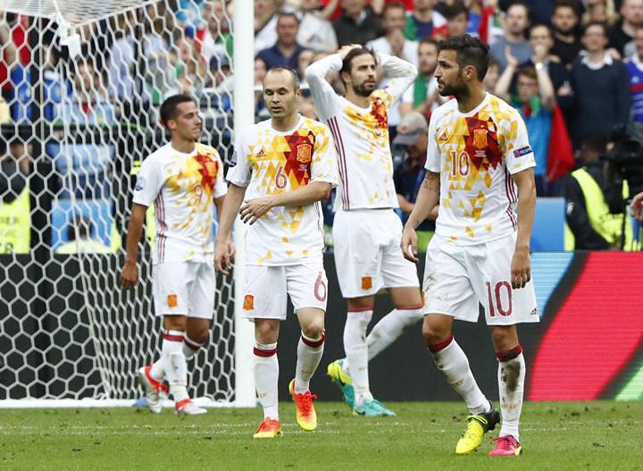 сборная Италии, сборная Испании, Евро-2016, Висенте Дель Боске