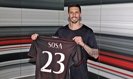 «Милан» ведет переговоры отрансфере бывшего полузащитника «Металлиста»