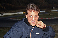 Андреа де Чезарис, Формула-1, Джордан, Эдди Джордан, Бенеттон, Михаэль Шумахер