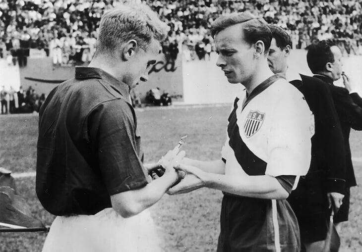 На ЧМ-1950 любители из США обыграли Англию