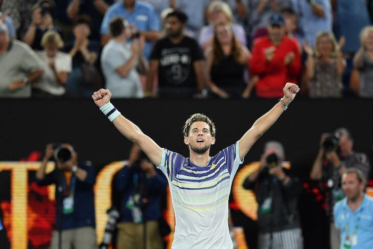 Доминик Тим восхитительно смелый. Поэтому он в финале Australian Open