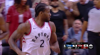 Kawhi Leonard with one of the day's best dunks