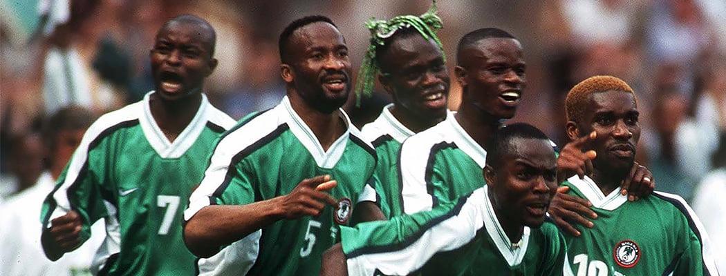 Кану, Окоча, Финиди и Бабаяро. Нигерия 90-х – главная африканская команда нашей жизни