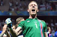 Ханнес Халльдоурссон, Евро-2016, сборная Исландии, Ливерпуль, Криштиану Роналду