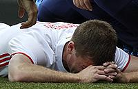 Игорь Денисов, сборная России, травмы, Евро-2016