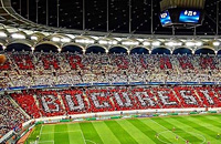 Лига чемпионов УЕФА, Динамо Бухарест, Стяуа, болельщики