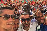 сборная Португалии, Криштиану Роналду, фото, Евро-2016, болельщики