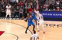 Оклахома-Сити, видео, Портленд, Тадж Гибсон, НБА