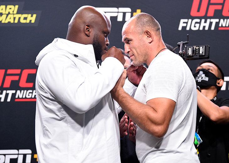 Алексей Олейник против Деррика Льюиса. Онлайн жаркого UFC Fight Night 174
