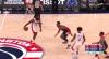 Thomas Bryant Blocks in Washington Wizards vs. Houston Rockets