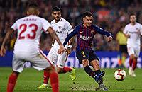 «Барселона» сбрасывает «Алавес» с 1-го места. Смотрите у нас