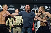 смешанные единоборства, UFC, MMA, Нэйт Диас, Конор МакГрегор