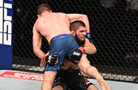 UFC, легкий вес (MMA), Хабиб Нурмагомедов, Джастин Гейджи, Хабиб - Гейджи, UFC 254