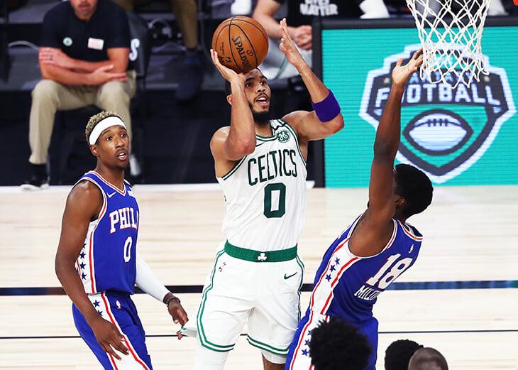 «Бостон» и «Филадельфия» – главные соперники в истории плей-офф НБА. И впервые их серия (а их было 17!) закончилась всухую 🧹