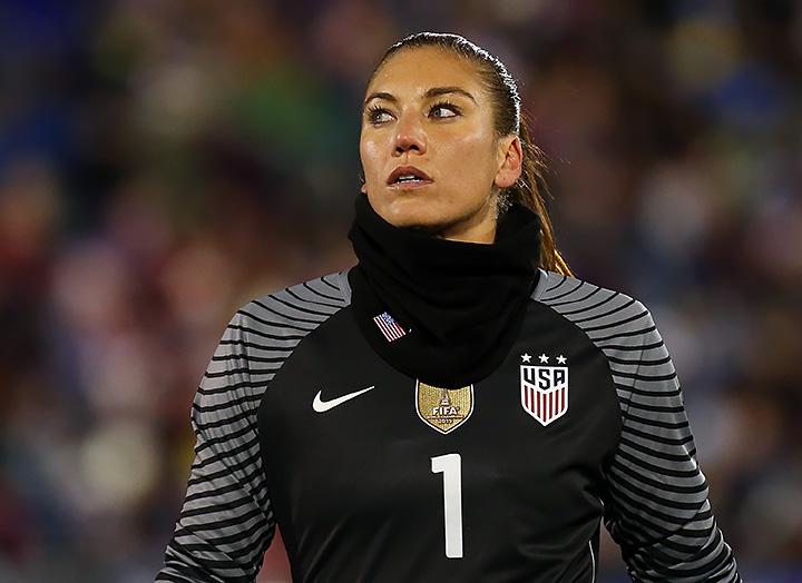 женский футбол, сборная США жен, Хоуп Соло