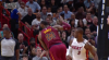 Dwyane Wade with one of the day's best blocks