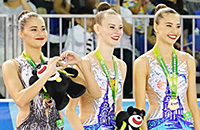 Универсиада, сборная России (художественная гимнастика), Елизавета Минихина, художественная гимнастика, Сергей Шнуров