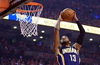 Данк Пола Джорджа – в Топ-10 моментов дня в НБА