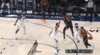 Stephen Curry drills the trey