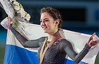 Алина Загитова, Ирина Слуцкая, Евгения Медведева