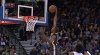 Kevin Durant attacks the rim!