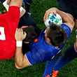 сборная Уэльса, сборная Франции, Кубок мира по регби, фото