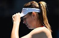 Мария Шарапова, травмы, WTA