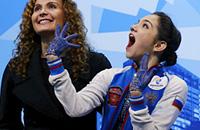 чемпионат мира, сборная России, женское катание, Евгения Медведева