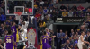 Victor Oladipo rattles the rim on the finish!