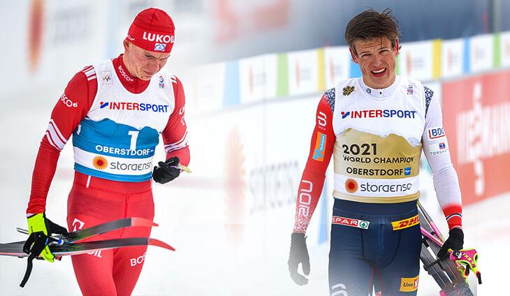 Александр Большунов, Йоханнес Клэбо, FIS, сборная Норвегии, сборная России (лыжные гонки), чемпионат мира