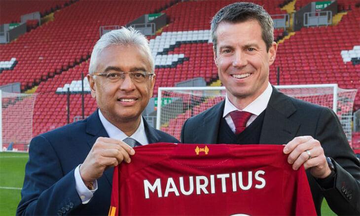 На матче «Ливерпуля» крутили рекламу туризма на Маврикий с ошибкой. На острове недовольны, ведь они платят клубу 7 млн фунтов