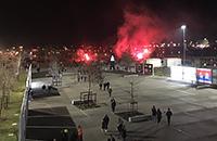 ЦСКА, Лион, Лига Европы, болельщики