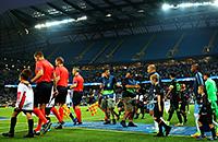 болельщики, Лига чемпионов, Манчестер Сити, Боруссия Менхенгладбах